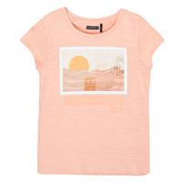 Oblačila Deklice Majice s kratkimi rokavi Ikks XS10332-32-C Rožnata