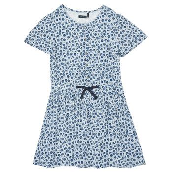 Oblačila Deklice Kratke obleke Ikks XS30102-48-C Modra