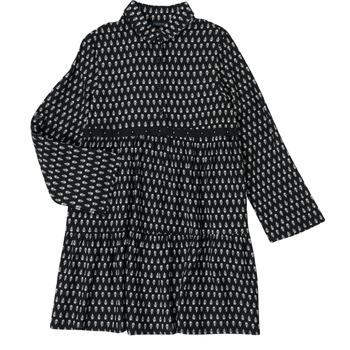 Oblačila Deklice Kratke obleke Ikks XS30002-02-C Črna