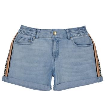 Oblačila Deklice Kratke hlače & Bermuda Ikks XS26002-84-C Modra