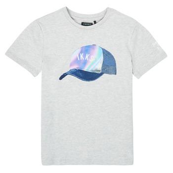 Oblačila Dečki Majice s kratkimi rokavi Ikks XS10073-24-C Siva