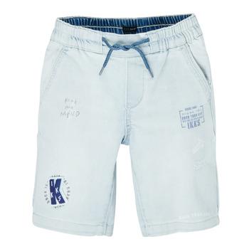 Oblačila Dečki Kratke hlače & Bermuda Ikks XS25223-82-C Modra