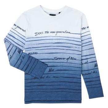 Oblačila Dečki Majice z dolgimi rokavi Ikks XS10003-19-C Večbarvna