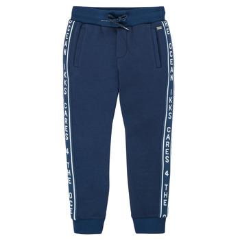 Oblačila Dečki Spodnji deli trenirke  Ikks XS23003-48-C Modra
