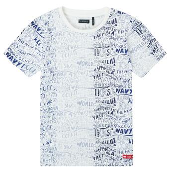 Oblačila Dečki Majice s kratkimi rokavi Ikks XS10063-19-C Večbarvna