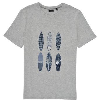 Oblačila Dečki Majice s kratkimi rokavi Ikks XS10363-24-C Siva