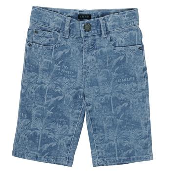 Oblačila Dečki Kratke hlače & Bermuda Ikks XS25253-82-C Modra