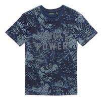 Oblačila Dečki Majice s kratkimi rokavi Ikks XS10153-46-C Modra