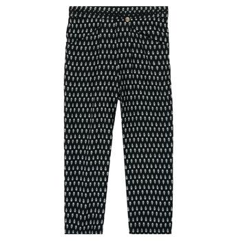 Oblačila Deklice Lahkotne hlače & Harem hlače Ikks XS22002-02-J Črna
