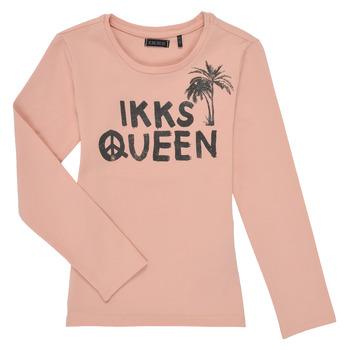 Oblačila Deklice Majice z dolgimi rokavi Ikks XS10092-32-J Rožnata