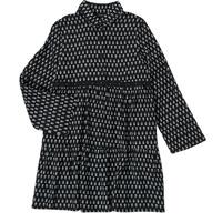 Oblačila Deklice Kratke obleke Ikks XS30002-02-J Črna