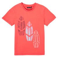 Oblačila Dečki Majice s kratkimi rokavi Ikks XS10043-79-J Rdeča
