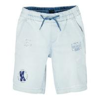 Oblačila Dečki Kratke hlače & Bermuda Ikks XS25223-82-J Modra