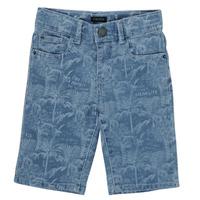 Oblačila Dečki Kratke hlače & Bermuda Ikks XS25253-82-J Modra