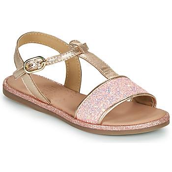 Čevlji  Deklice Sandali & Odprti čevlji Mod'8 PAILLETTA Rožnata