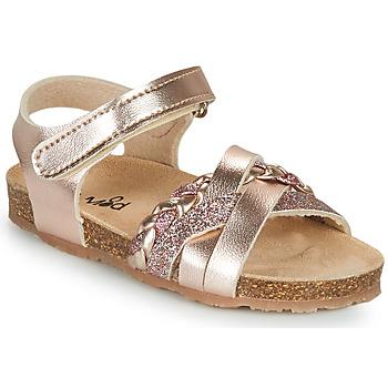 Čevlji  Deklice Sandali & Odprti čevlji Mod'8 KOENIA Rožnata / Zlata