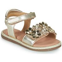 Čevlji  Deklice Sandali & Odprti čevlji Mod'8 PARLOTTE Pozlačena