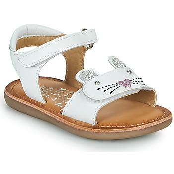 Čevlji  Deklice Sandali & Odprti čevlji Mod'8 CLOONIE Bela