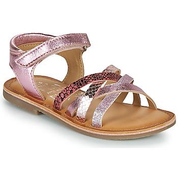 Čevlji  Deklice Sandali & Odprti čevlji Mod'8 CANILA Rožnata