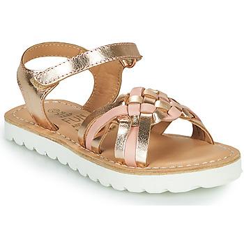 Čevlji  Deklice Sandali & Odprti čevlji Mod'8 JOKINE Rožnata