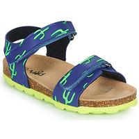 Čevlji  Dečki Sandali & Odprti čevlji Mod'8 KOURTIS Modra / Zelena