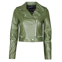 Oblačila Ženske Usnjene jakne & Sintetične jakne Oakwood YOKO Kaki