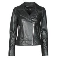 Oblačila Ženske Usnjene jakne & Sintetične jakne Oakwood MARJORY Črna