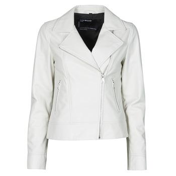 Oblačila Ženske Usnjene jakne & Sintetične jakne Oakwood MARJORY Bela
