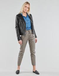 Oblačila Ženske Hlače s 5 žepi Oakwood GIFT Siva