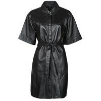 Oblačila Ženske Kratke obleke Oakwood BREAK Črna