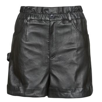 Oblačila Ženske Kratke hlače & Bermuda Oakwood JANNY Črna