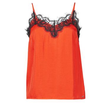 Oblačila Ženske Majice brez rokavov Les Petites Bombes AMY Oranžna