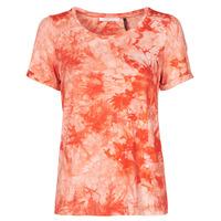 Oblačila Ženske Majice s kratkimi rokavi Les Petites Bombes BRISEIS Oranžna