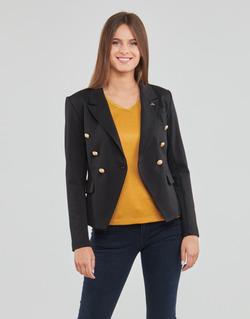 Oblačila Ženske Jakne & Blazerji Les Petites Bombes AGATHE Črna