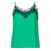 Oblačila Ženske Majice brez rokavov Les Petites Bombes AMY Zelena