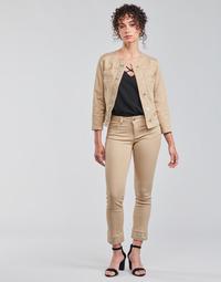 Oblačila Ženske Hlače s 5 žepi Liu Jo IDEAL Bež