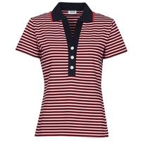 Oblačila Ženske Polo majice kratki rokavi Liu Jo WA1142-J6183-T9701 Bela / Rdeča