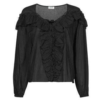 Oblačila Ženske Topi & Bluze Liu Jo WA1084-T5976-22222 Črna