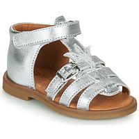 Čevlji  Deklice Sandali & Odprti čevlji GBB CARETTE Srebrna
