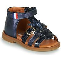 Čevlji  Deklice Sandali & Odprti čevlji GBB PAULETTE Modra