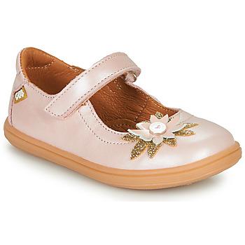 Čevlji  Deklice Balerinke GBB FANETTA Rožnata
