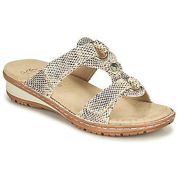 Čevlji  Ženske Sandali & Odprti čevlji Ara HAWAII Bež