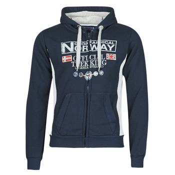 Oblačila Moški Puloverji Geographical Norway GAFONT Modra