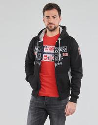 Oblačila Moški Puloverji Geographical Norway GAFONT Črna