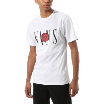 Oblačila Majice s kratkimi rokavi Vans Kw classic rose s Bela