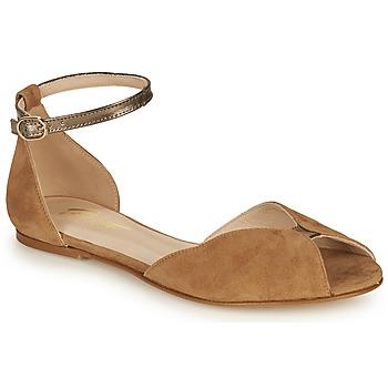 Čevlji  Ženske Sandali & Odprti čevlji Betty London INALI Kamel