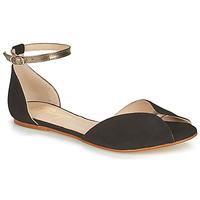 Čevlji  Ženske Sandali & Odprti čevlji Betty London INALI Črna