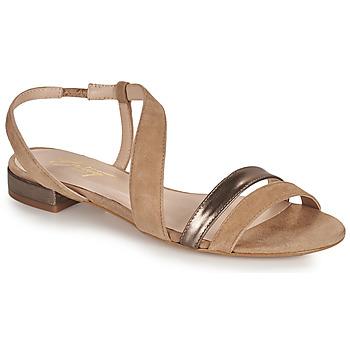 Čevlji  Ženske Sandali & Odprti čevlji Betty London OCOLI Bež