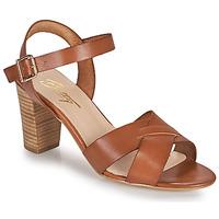 Čevlji  Ženske Sandali & Odprti čevlji Betty London OCOLA Kamel