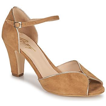 Čevlji  Ženske Sandali & Odprti čevlji Betty London ORAD Kamel